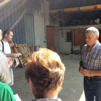AWE visit to Alsace - Domaine Becht