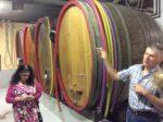 Pierre shows us his cellar